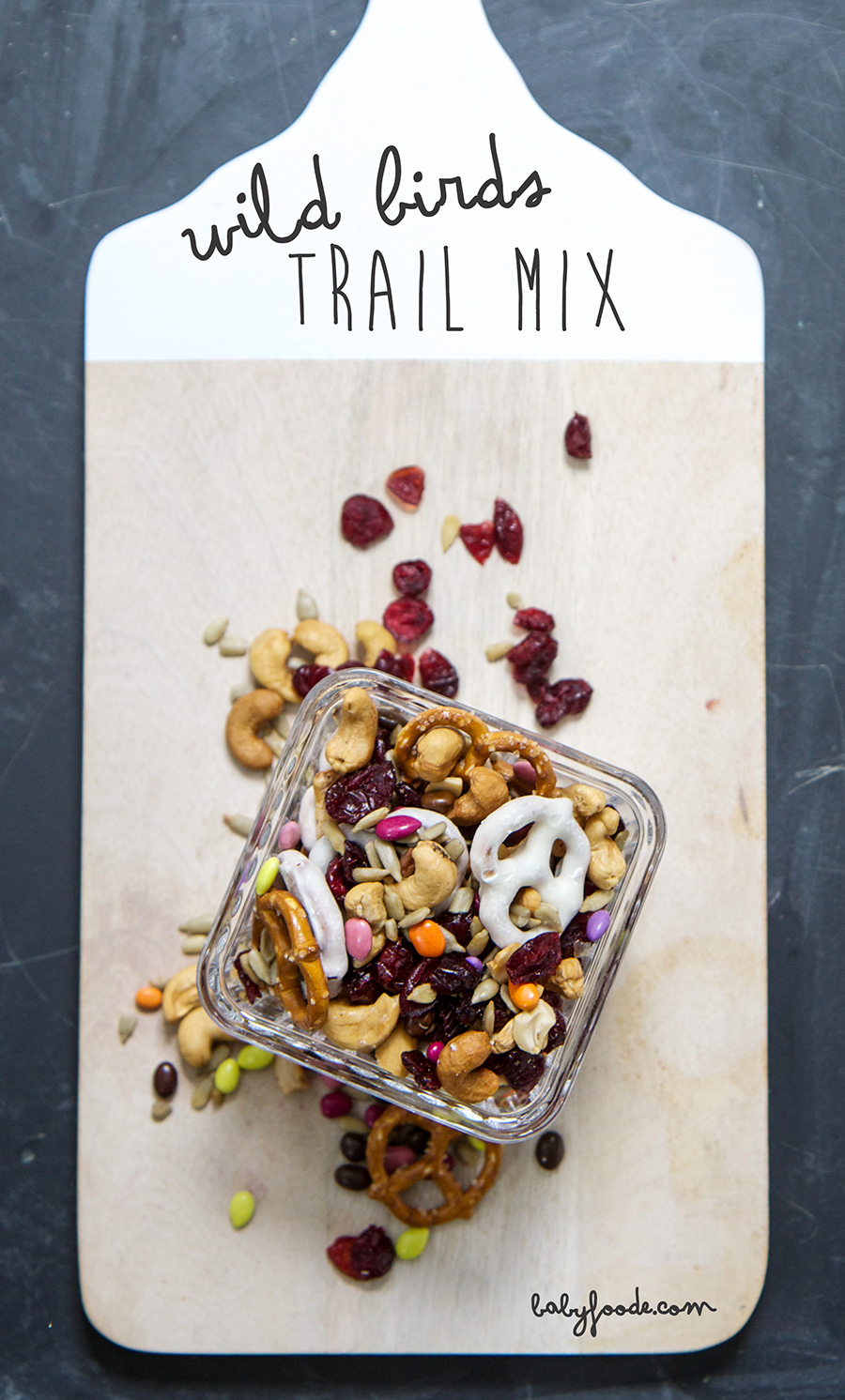 Wild Bird Trail Mix - babyfoode