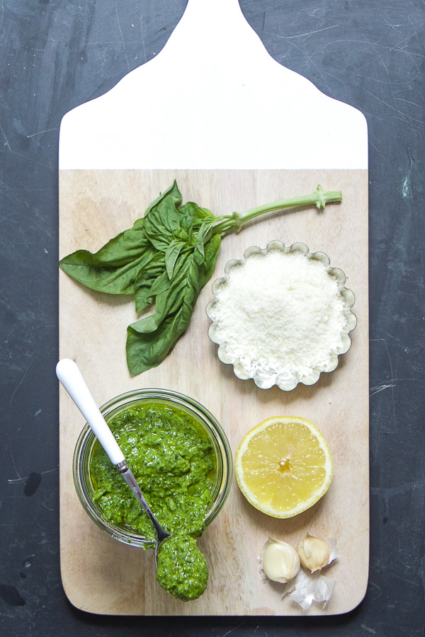Basil Lemon Pesto