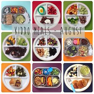 What the Kiddos Ate - August