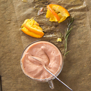 Salmon + Orange Baby Puree