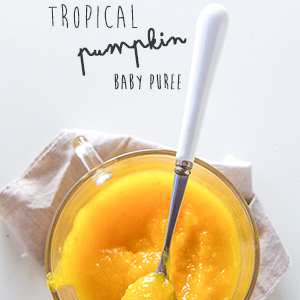 Tropical Pumpkin Baby Puree