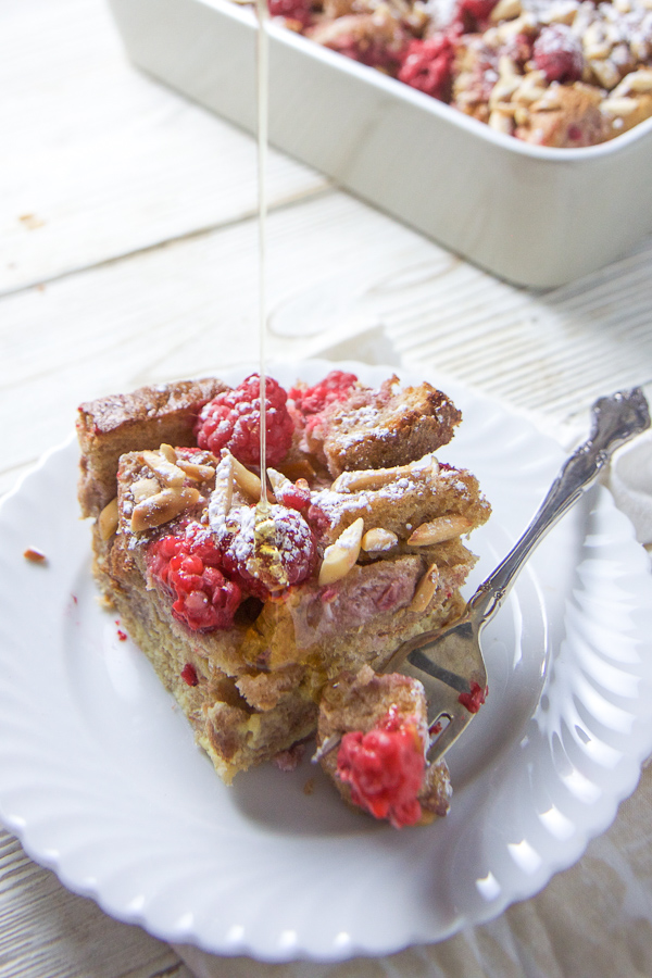 Baked Raspberry + Almond French Toast — Baby FoodE ...