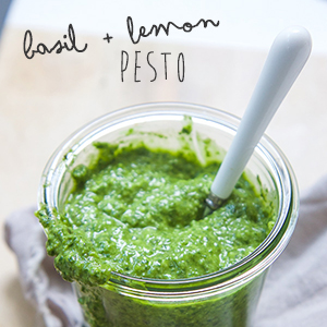 Basil + Lemon Pesto
