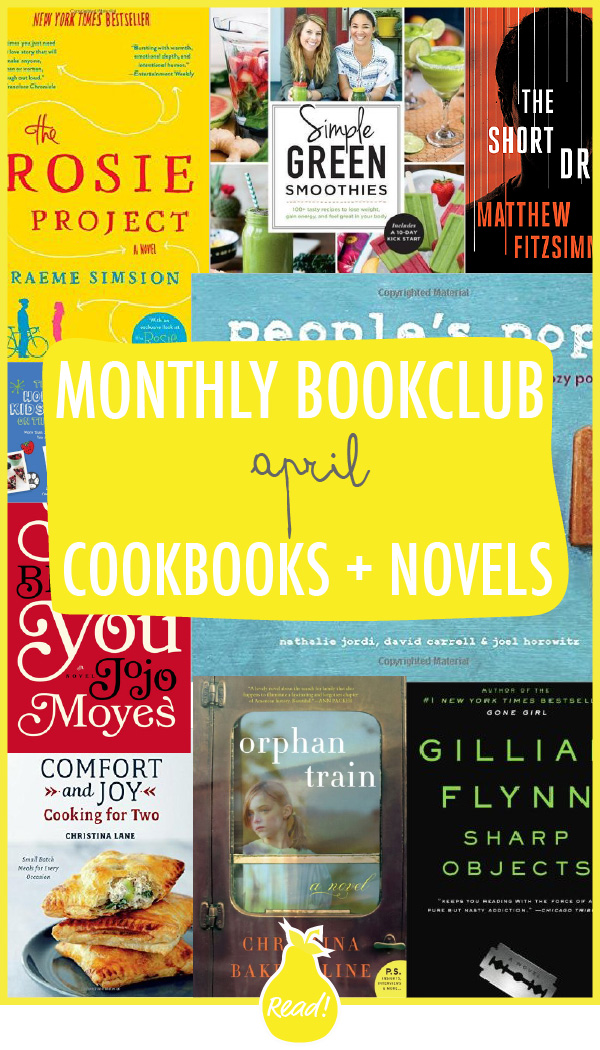 Bookclub - April (Favorite Cookbooks and Novels)