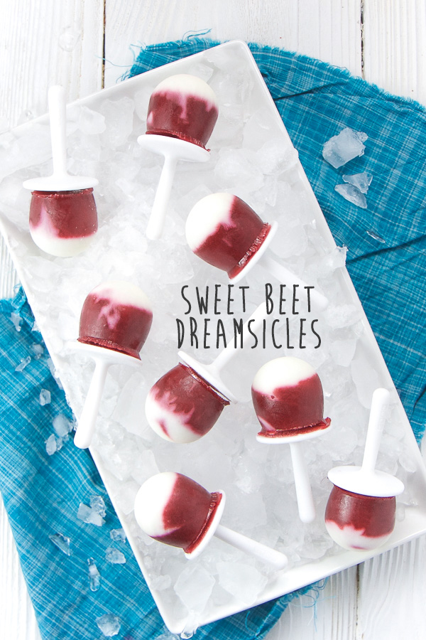 Sweet Beet Dreamsicles Baby Foode Adventurous Recipes