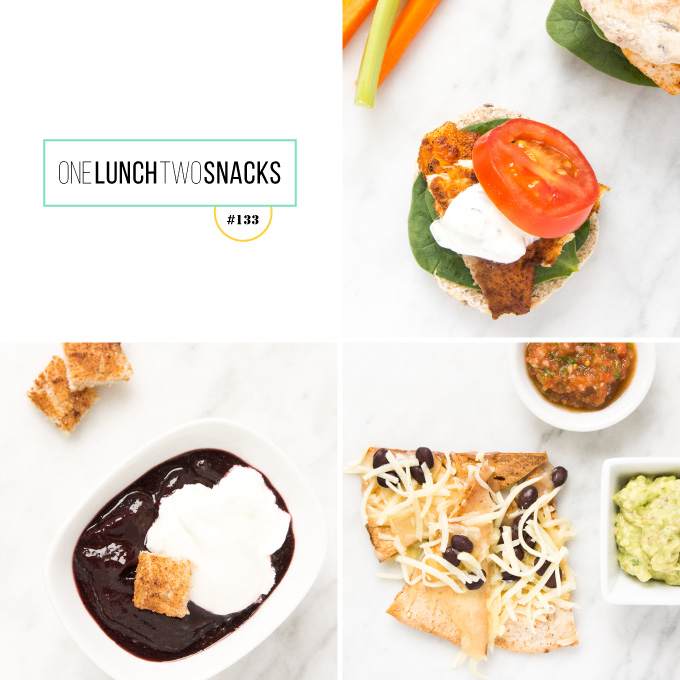 1 Lunch + 2 Snacks #133