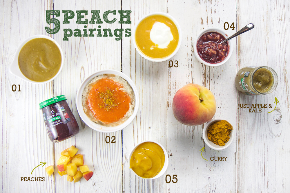 5 Easy Summer Peach Purée Pairings