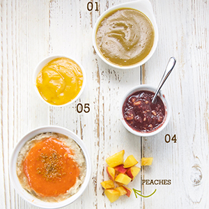 5 Easy Summer Peach Puree Pairings