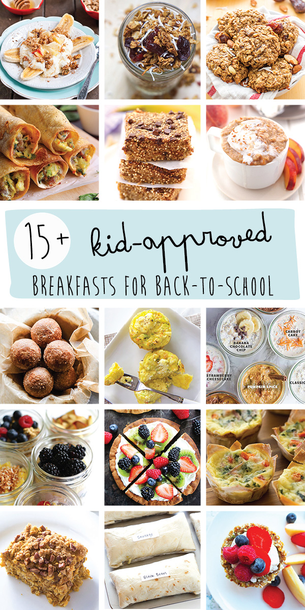 15+ Kid Approved Breakfasts for Back-To-School