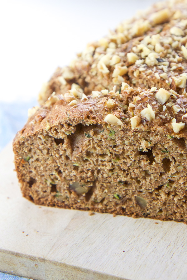 Healthy Toddler + Mom Approved Zucchini Bread