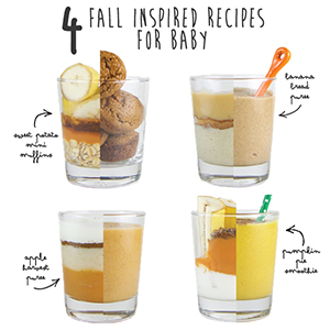 4 Fall Inspired Recipes for Baby