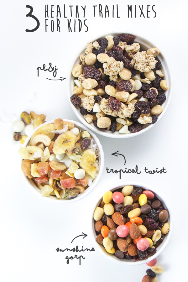 3 Healthy Trail Mixes For Kids Baby Foode Adventurous
