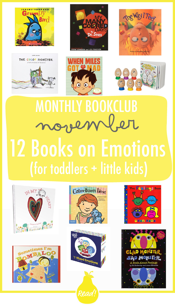 Bookclub November - 12 Books on Emotions (for Toddlers + Little Kids ...