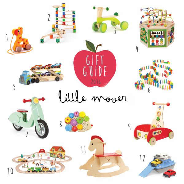 Gift Guide for Little Movers