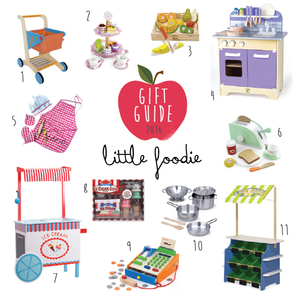 gift guide little foodie