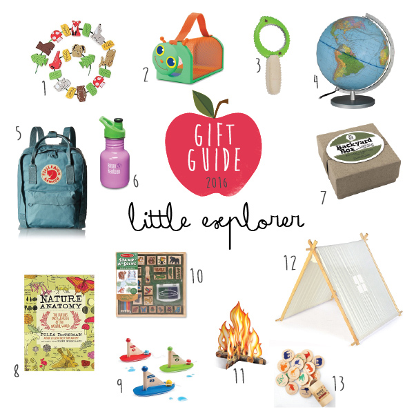 gift guide little explorer