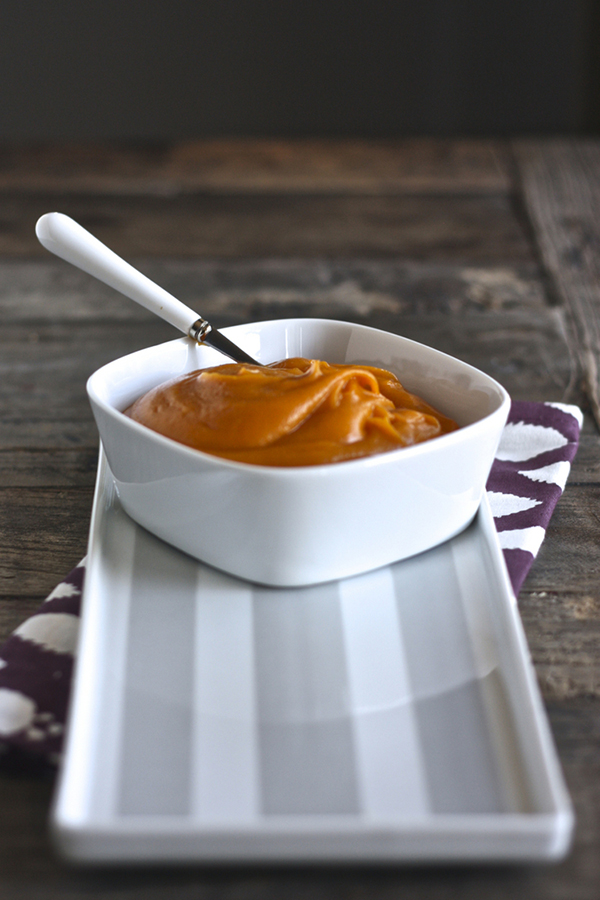 15 stage one baby puree recipes that will tempt your baby's taste buds! These easy recipes are made with nutrient dense whole fruits and vegetables with an added pinch of spice to make these purees out-of-this-world delicious! #baby #babyfood #stageone