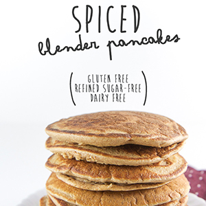 Spiced Blender Pancakes