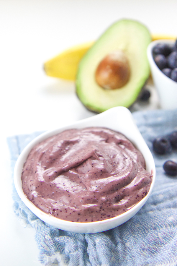 5 minute banana blueberry avocado baby puree baby foode 5 minute banana blueberry avocado baby puree baby foode adventurous recipes for babies toddlers forumfinder Images