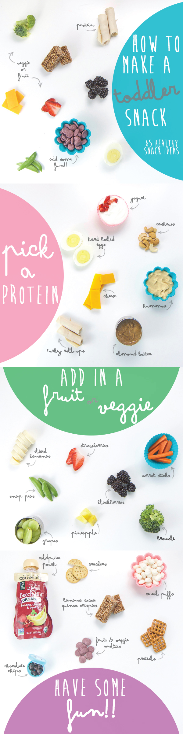 How to Make a Toddler Snack (65 Healthy Snack Ideas)