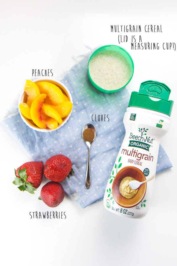 Make your morning routine healthy and easy with this 4 Easy Breakfasts Cereals for Baby. Filled with fruits, vegetables and healthy wholesome grains, these easy baby cereal recipes are as delicious as they are nutritious for your little one and can be made in just 5 minutes. Fast, easy, and healthy baby breakfast! #baby #babyfoodrecipe