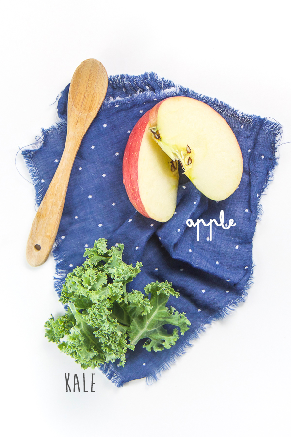 Apple Kale Baby Puree Baby Foode Adventurous Recipes For