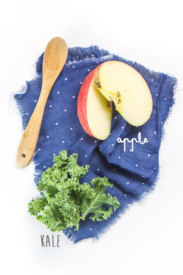 Apple + Kale Baby Puree