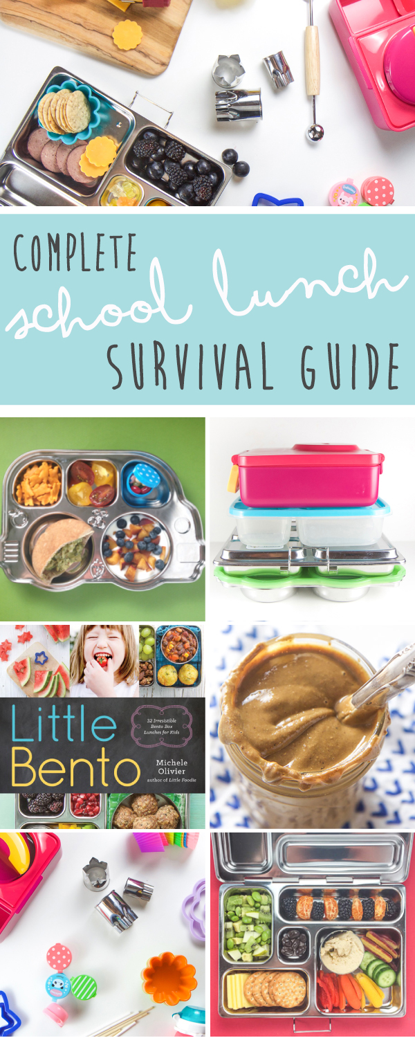 The complete back to school lunch survival guide! My favorite bento boxes and bento accessories, my go-to school lunch recipes, and tons of healthy school lunch inspiration for kids! #lunch #school #healthy #healthyrecipes #kids #toddlers #backtoschool