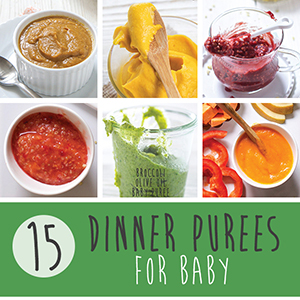 15 Dinner Purees for Baby