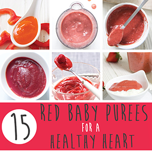 15 Red Baby Purees for a Healthy Heart