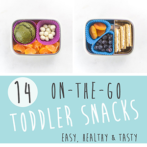 14 On-The-Go Toddler Snacks