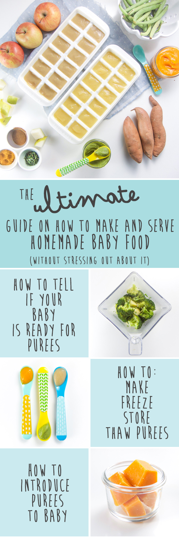 The Ultimate Guide on How to Make and Serve Homemade Baby Food