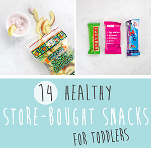 14 Healthy Store-Bought Snacks For Toddlers