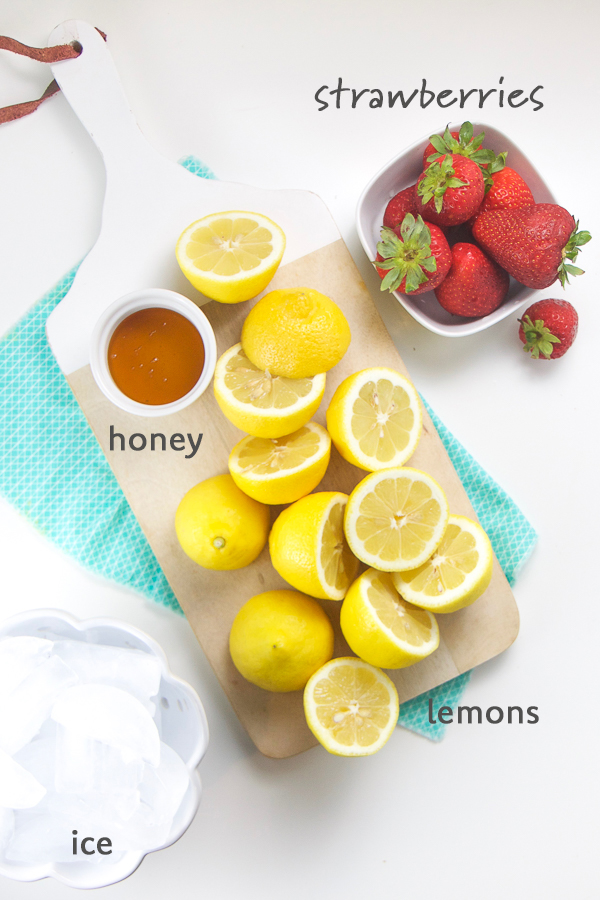 Strawberry Lemonade Slushies for Toddler + Kids (refined sugar-free)