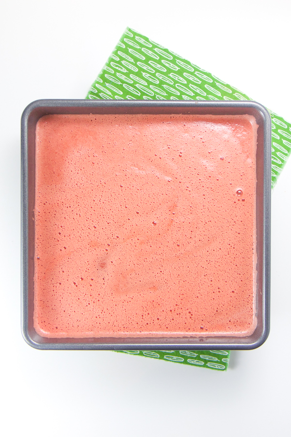 This 3-Ingredient Easy Watermelon Slush is naturally refined sugar-free and is the perfect cold and sweet treat for any toddler, kid or even adult this summer! #healthy #treats #healthyrecipes #summer #kids #healthykids