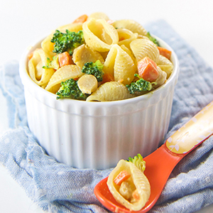 Curry Pasta Salad for Baby + Toddler