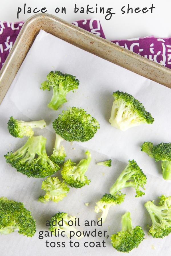 This flavorful Roasted Broccoli recipe is a great way to add healthy nutrient dense broccoli to your baby and toddler's diet. This easy homemade side dish recipe can be served to babies 6 months and up, and kids of all age love it. It's perfect as a finger food, for baby led weaning, or an easy kid friendly side dish for weeknight dinners. #toddler #fingerfoods #babyledweaning #sidedish #broccoli #healthyrecipes