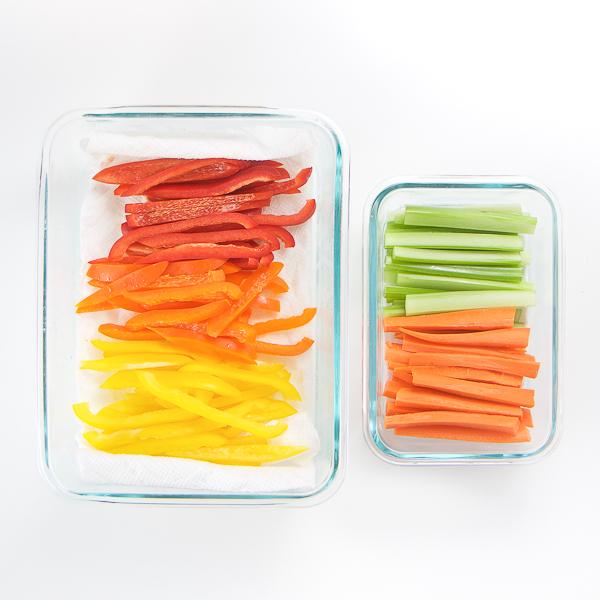 40+ Kid-Friendly Weekly Food Prep Ideas - Veggies