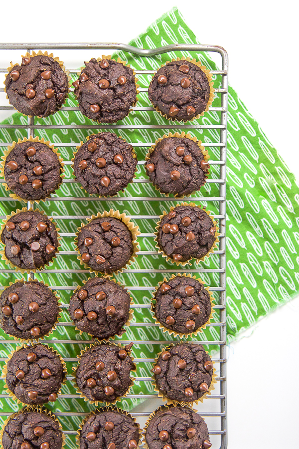 Allergy-Friendly Pumpkin Chocolate Muffins for Toddler + Kids - Age: 12 months and upPrep Time: 5 minutesCook Time: 15 minutesServings: 20 mini muffinsStorage: store in air-tight contain in the fridge for one week
