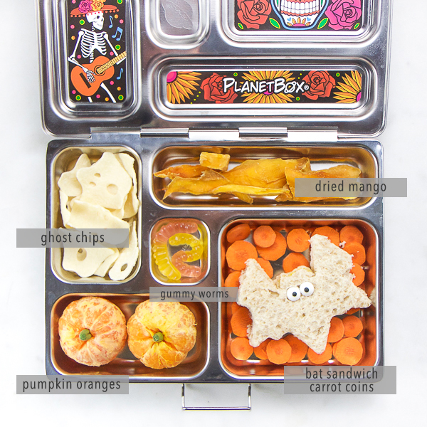 Healthy Halloween Lunch for Kids