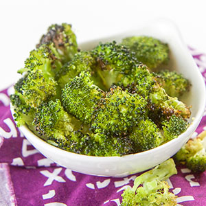 Roasted Broccoli Finger Food for Baby + Toddler