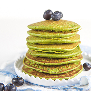 Easy Blender Spinach Pancakes for Baby + Toddler