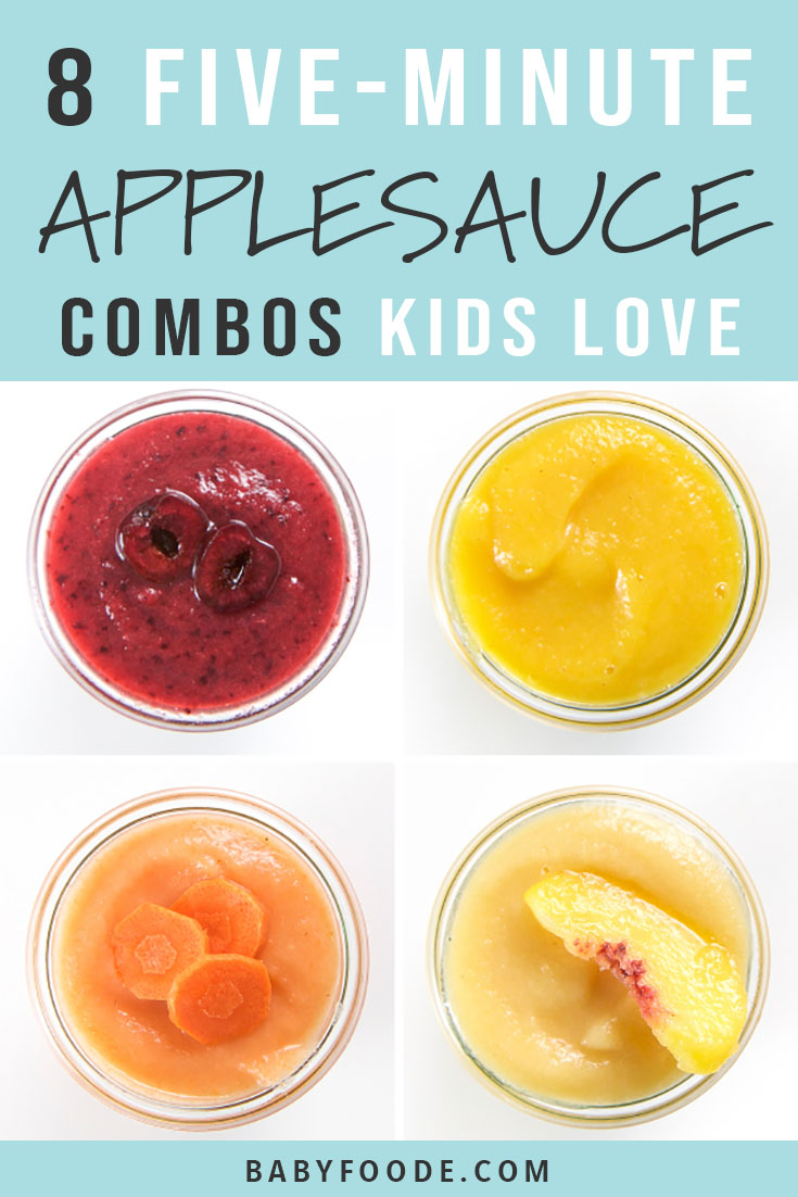 5-Minute Applesauce Combos for Kids