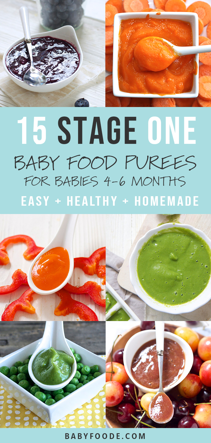 15 Stage One Baby Purees That Actually Taste Delicious Baby