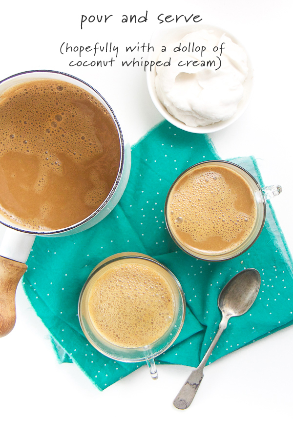 A classic kid drink reinvented - this healthy turmeric hot cocoa for toddlers and kids is going to be your new favorite cold weather drink! Refined sugar free and dairy free, this healthy hot chocolate for kids is filled with the classic cocoa flavor but with a fun spice twist. #healthydrinks #toddlers