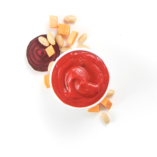 Sweet Potato + White Beans and Beets