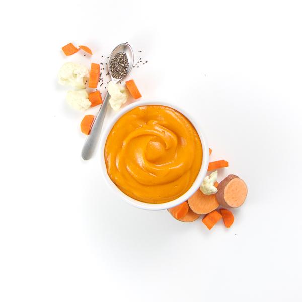 Sweet Potato + Carrots + Cauliflower with Chia Seeds