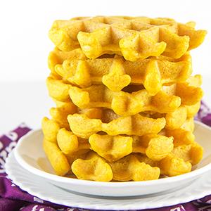 Golden Milk Waffles for Baby + Toddler + Kids