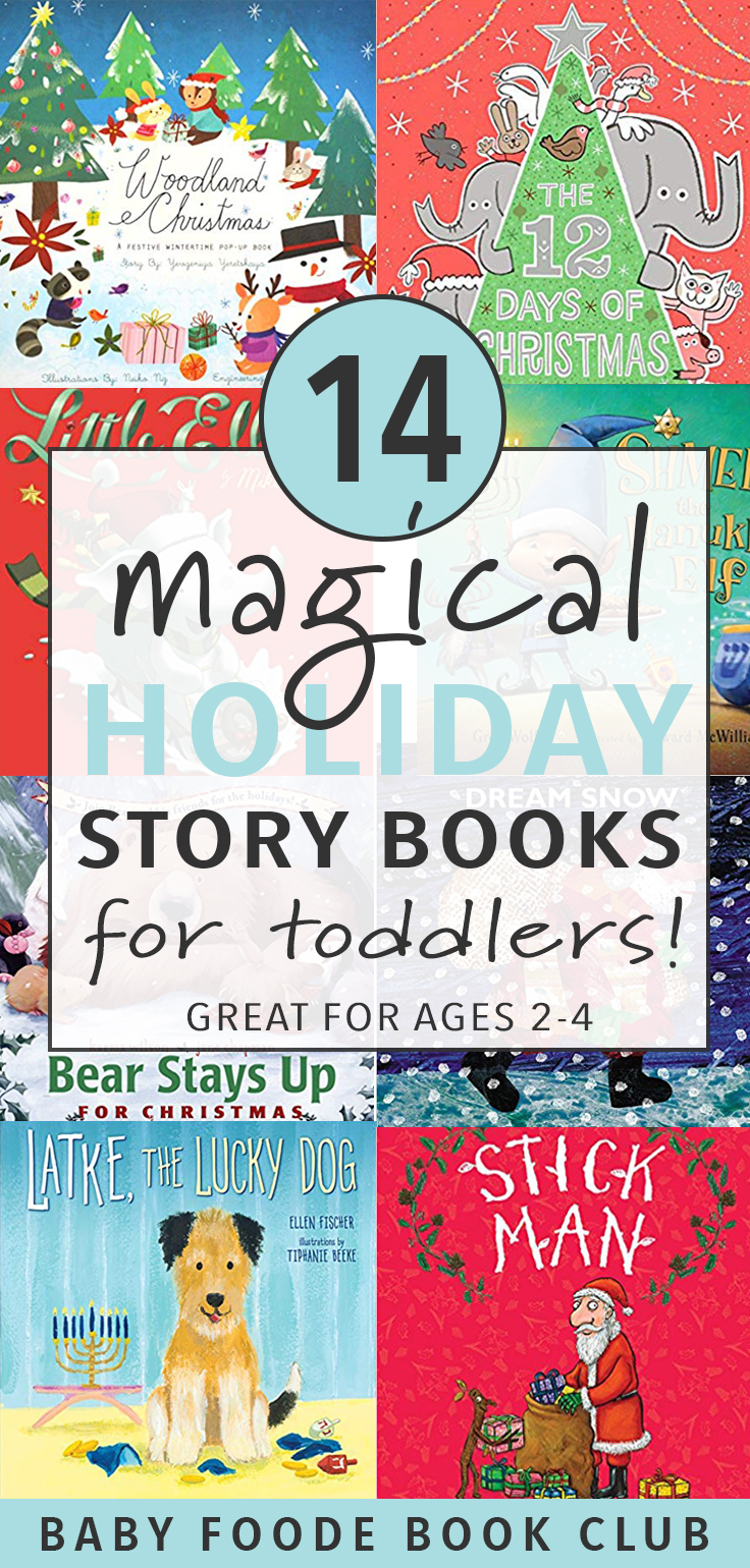 14 Magical Holiday Story Books for Toddlers