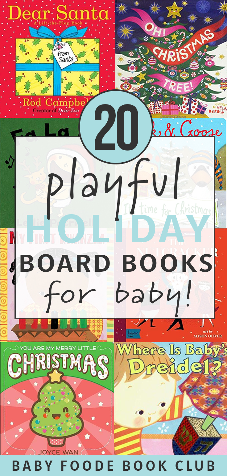 20 Playful Holiday Board Books for Baby